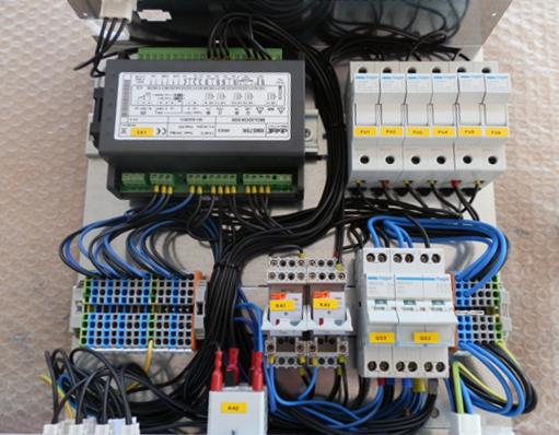Meccanica Cablata per Sistema di Controllo Temperature