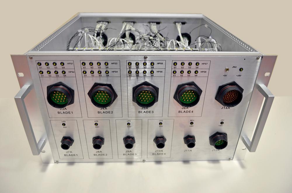 Modulo rack di interconnessione e smistamento segnali